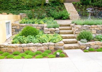 Anlage eines Gartens